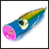 Mackerel / Wahoo > Poppers / Pushers