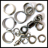 Mackerel / Wahoo > Split Rings / Sold Rings / Swivels